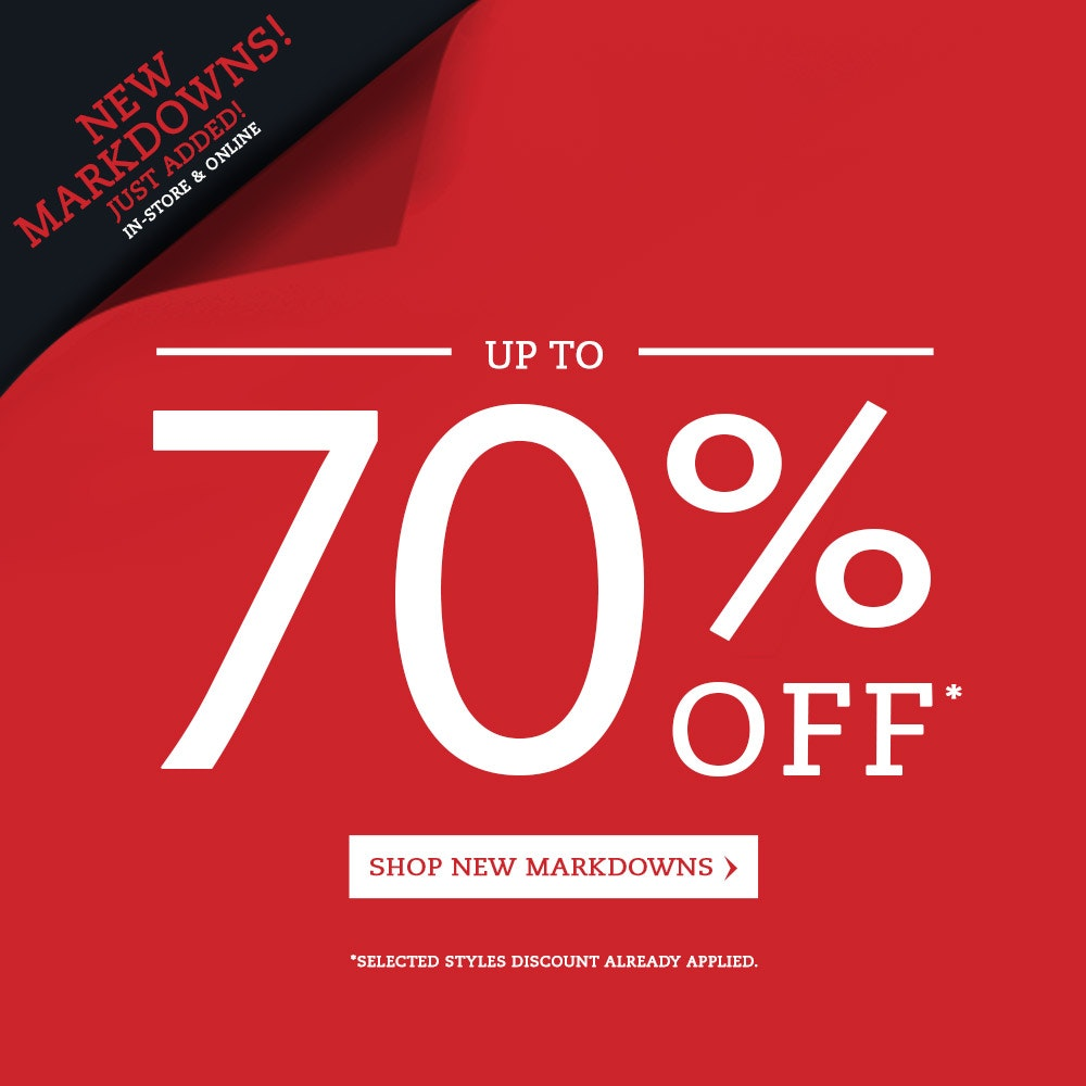 Johnny Bigg up to 70% off Sale