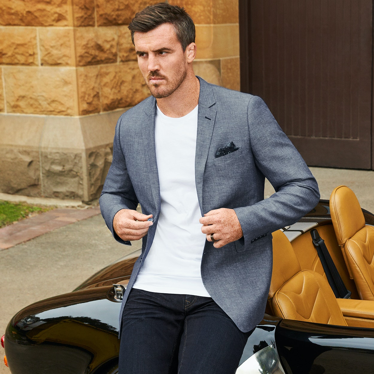 Shop our latest season Mens suits, shirts, denim, chinos & shoes