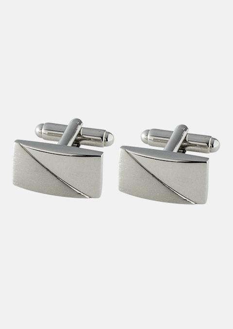 Silver Classic Cuff Link