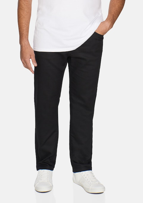 Black Zane Stretch Pant