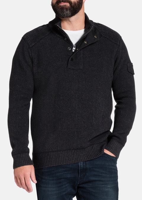 Charcoal Northern Knit