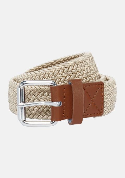 Natural Mandalay Stretch Belt