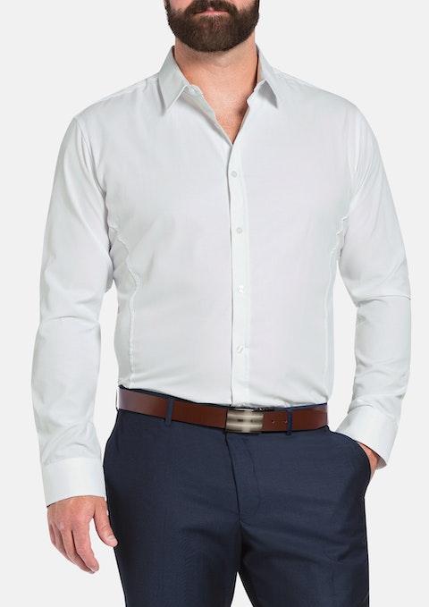 White Cranbrook Dress Shirt