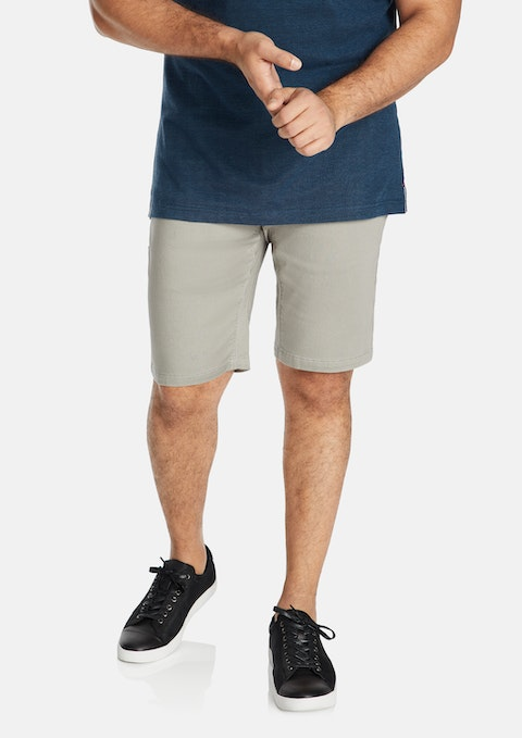 Grey Ferris Stretch Short