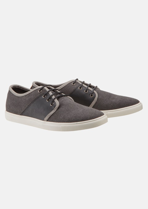 Charcoal Jefferson Lace Up