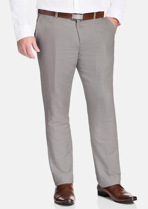 Natural Windsor Linen Blend Pant