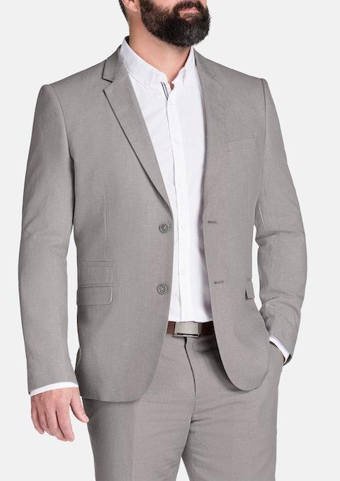 Natural Windsor Linen Blend Jacket
