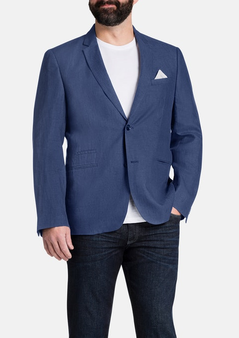 Foam Cutler Linen Jacket