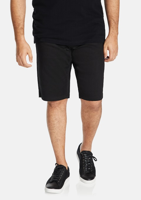 Black Bueller Knit Short