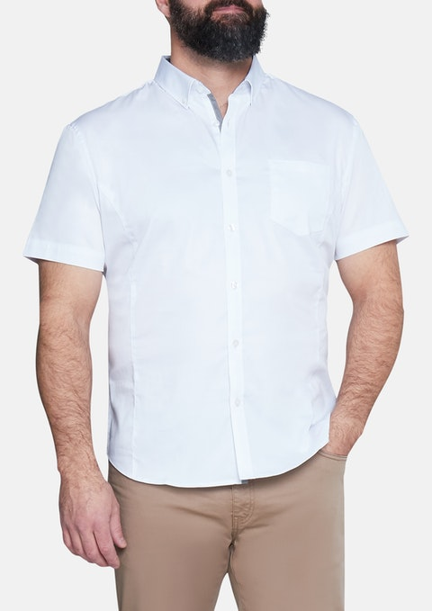 White Patrick Stretch Shirt