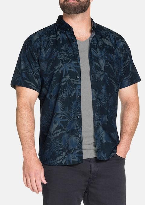 Indigo Lebron Print Shirt