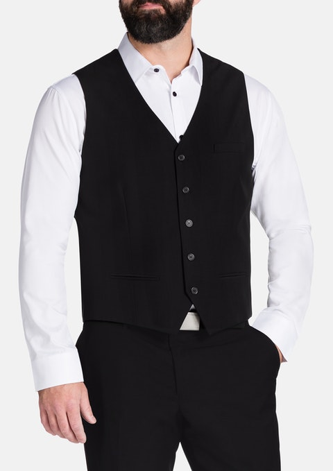 Black Paramount Waistcoat