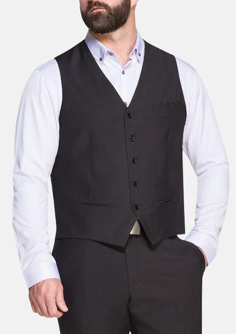 Charcoal Ledger Waistcoat