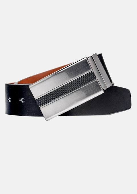 Black/tan Marcus Reversible Belt