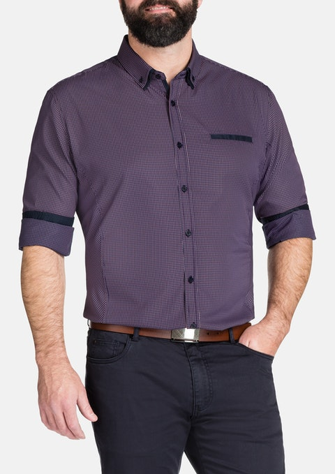Berry Hosking Check Shirt