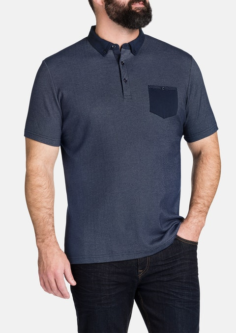 Navy William Polo