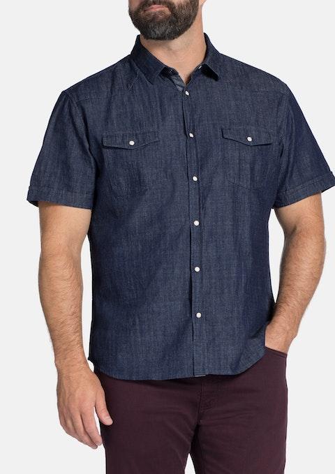 Indigo Ricko Denim Shirt