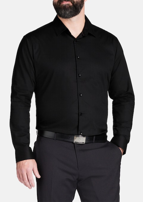 Black Romeo Textured Shirt