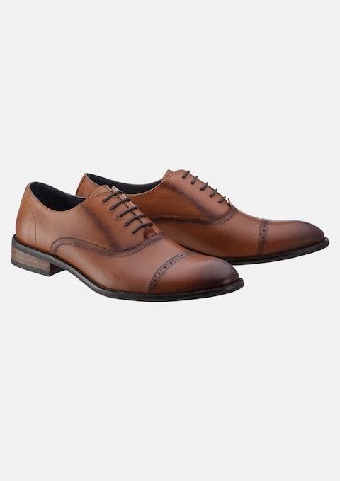 Tan Bill Brogue Shoe