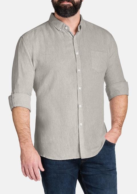 Stone Memphis Marle Linen Shirt
