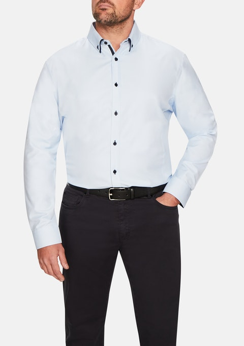 Sky Charlie Textured Shirt