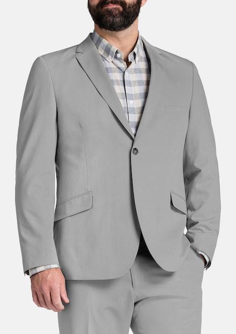 Cement Avery 1 Button Suit Jacket