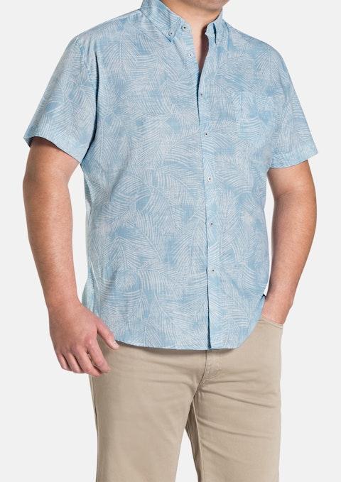 Sky Fern Print Shirt
