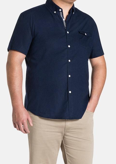 Navy Essential Plain Shirt