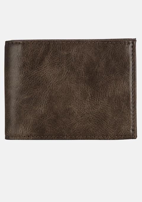 Chocolate Bi Fold Wallet