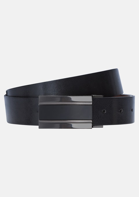 Cbl - Choc/blk Box Reversible Belt