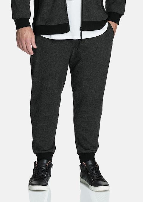 Charcoal Shaw Moto Cuff Pant