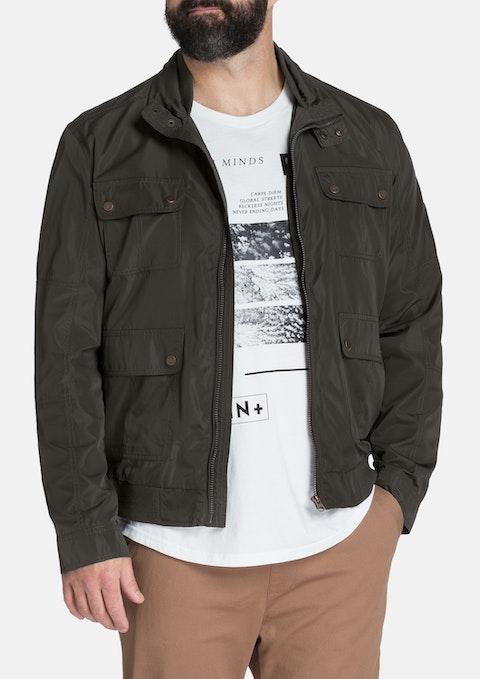 Khaki Ralph Military Jacket