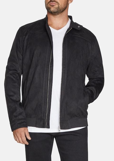 Black Timothy Sueded Jacket