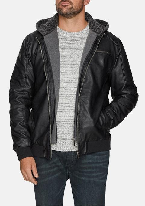 Black Morrow Biker Jacket