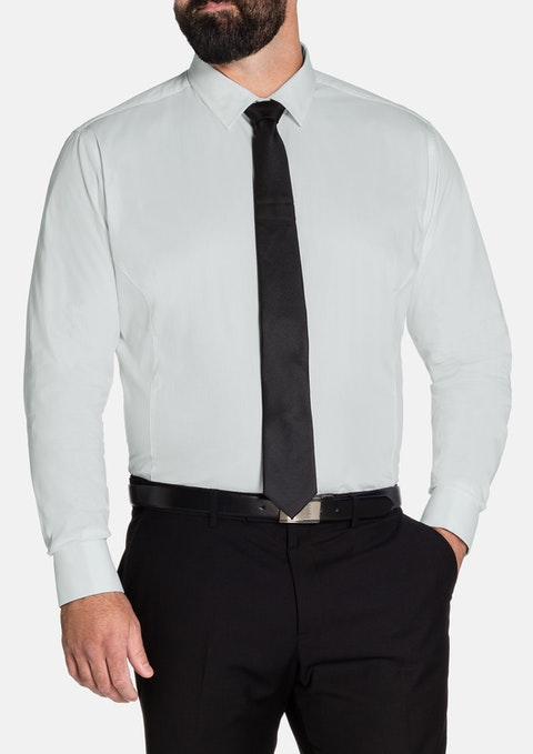 White Bond French Cuff Shirt