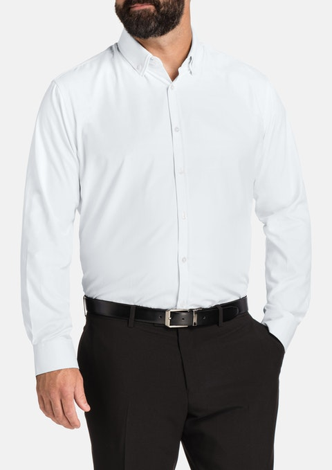 White Royale Textured Shirt