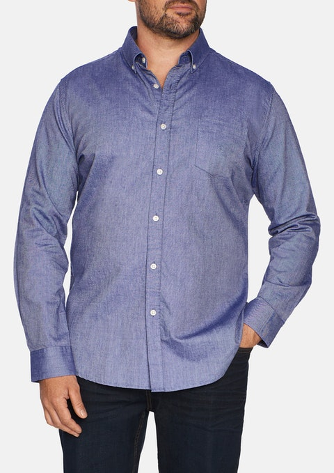 Chambray Essential Oxford Shirt