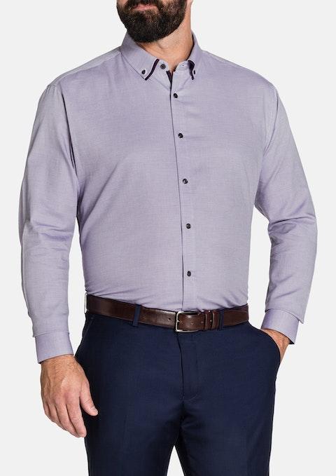 Lilac Asher Textured Shirt