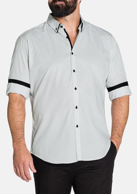 Black Arran Print Shirt