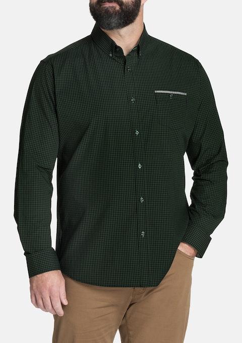 Khaki Otto Check Shirt