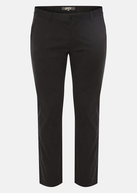 Black Springer Stretch Pant