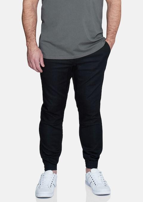 Black Max Moto Cuff Pant
