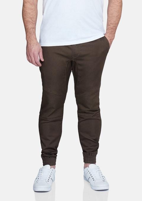 Khaki Max Moto Cuff Pant