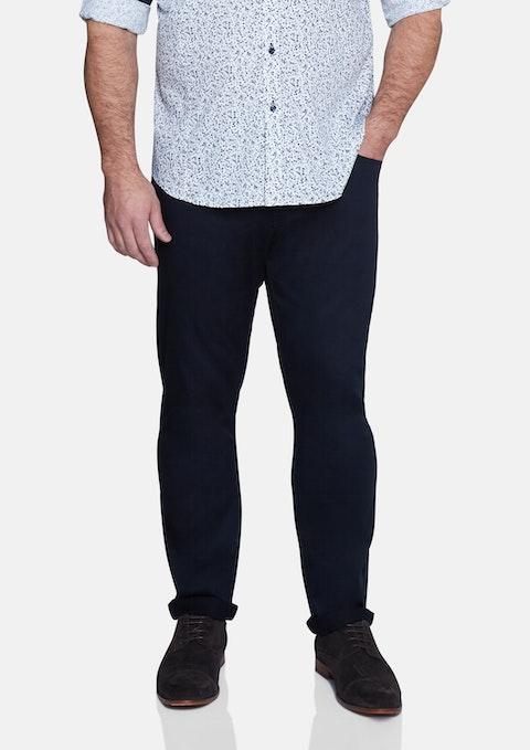 Navy Roger Knit Pant