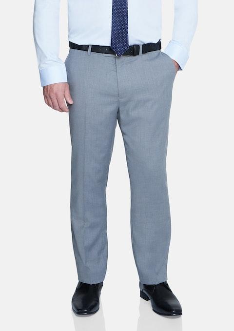 Silver Brosnan Elastic Waist Stretch Pant