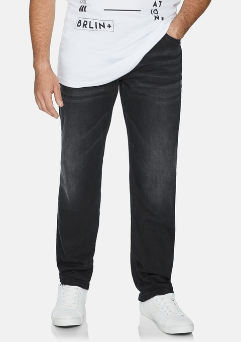 Charcoal Marlon Stretch Jean