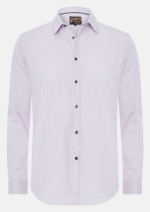 Pink Cyrus Textured Dress Shirt