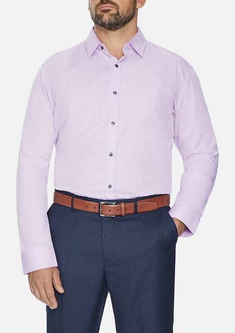 Pink Cyrus Textured Dress Shirt