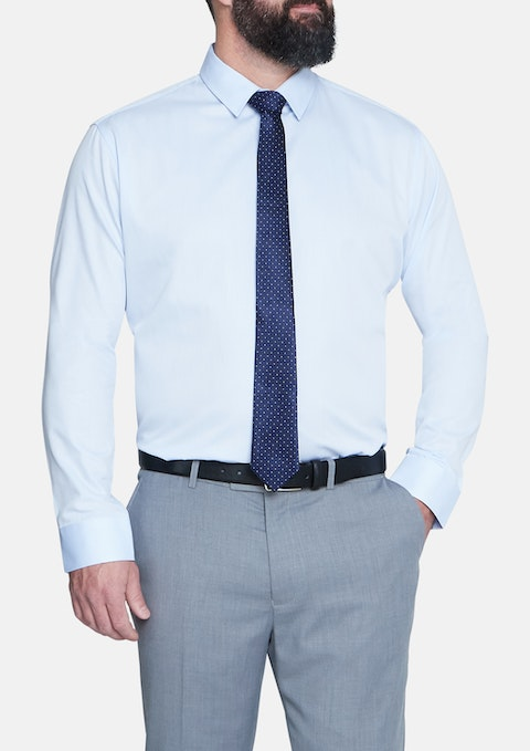 Sky Cyrus Textured Dress Shirt