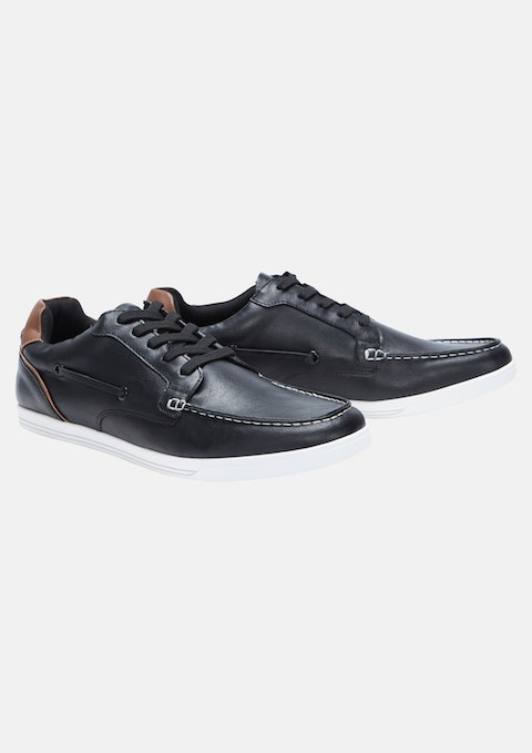 Black Carlton Shoe
